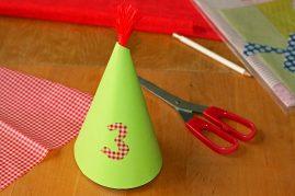kaip pasidaryti gimtadienio kepurę