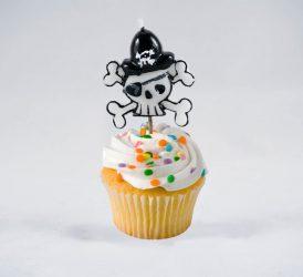 žvakutės tortui piratas