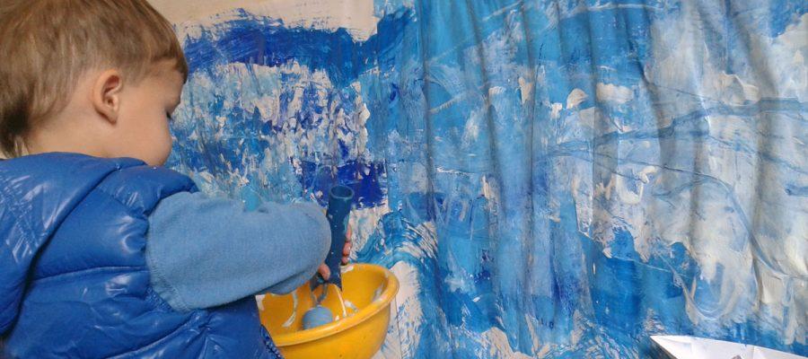 apie vaikų kūrybiškumą ir meno terapiją