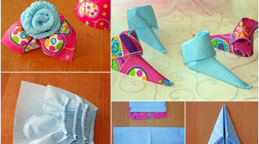 dekoracijos iš servetėlių, gimtadienio mugė