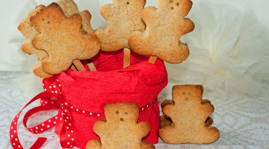 Žemės riešutų sviesto sausainiai, gimtadienio mugė