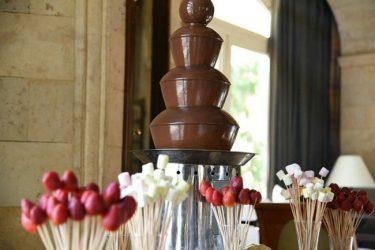 šokolado fontanas nuoma
