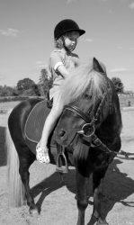 vaiko gimtadienis su arkliukais