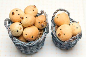 bandelės vaikams viščiukai