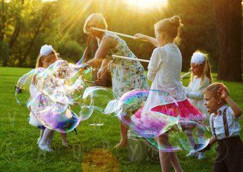 muilo burbulų šventė
