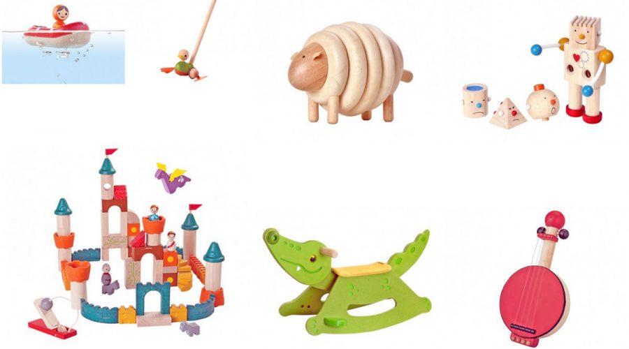 plantoys mediniai žaislai