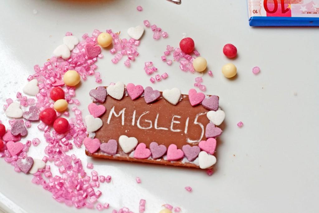 šokoladinės dekoracijos vaiko gimtadieniui
