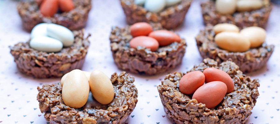 šokoladiniai granolos batonėliai