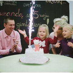 vaikų gimtadieniai vilniuje