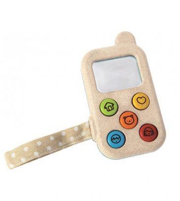 žaislinis telefonas vaikams Plan Toys
