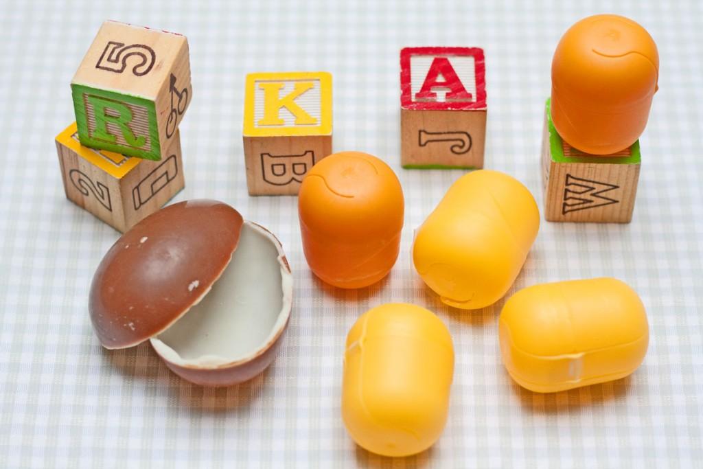 Kinder kiaušinių dėžutės – idėjos