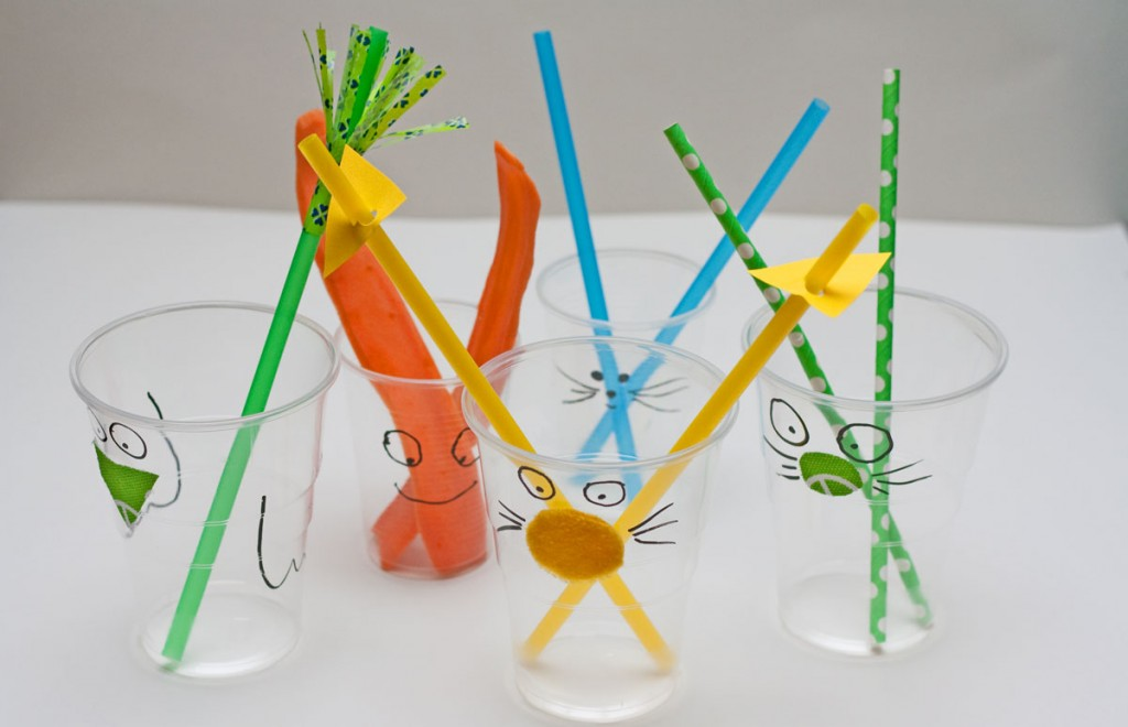 Stiklinės vaiko gimtadieniui