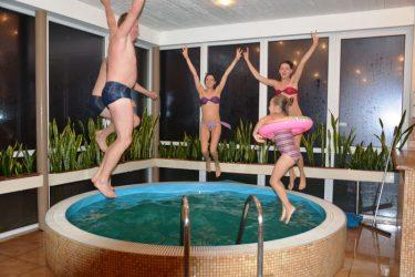 vaikų gimtadienis su baseinu Klaipėda