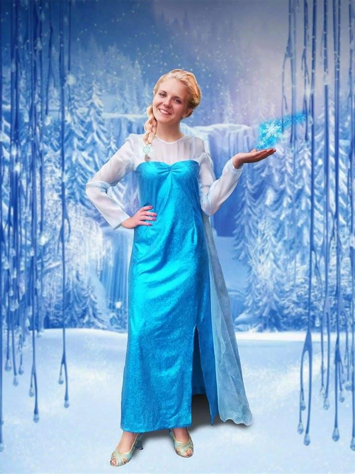 Ledo šalies personažai – Elza