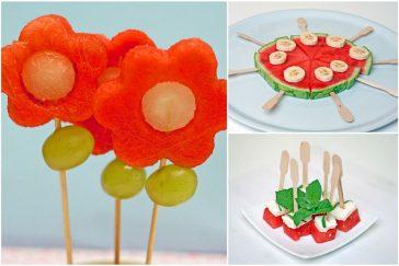 3 idėjos iš arbūzų gimtadienio mugė