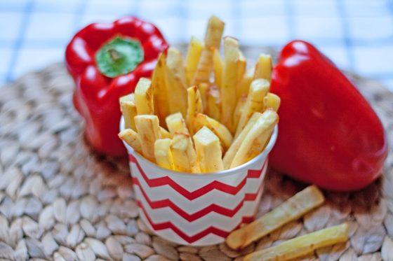 vaikų gimtadienio patiekalas bulvytės fri