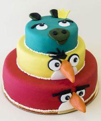 angry bird tortas internetu