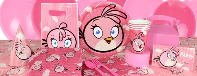 angry birds gimtadienis mergaitei