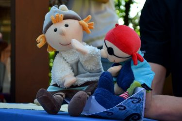 lėlių spektaklis vaiko gimtadienis