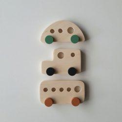 mediniai skandinaviški žaislai