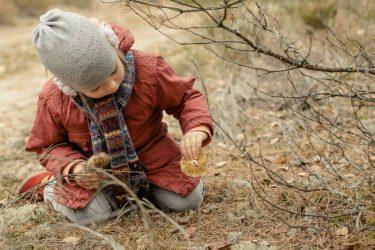 vaikų fotosesija gamtoje