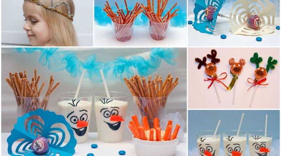 frozen arba idėjos ledo šalies gimtadieniui