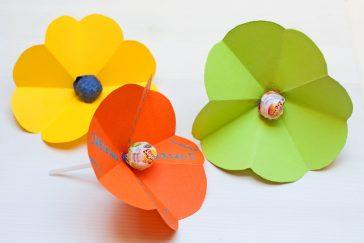 ledinukai vaikams vietoje gėlių