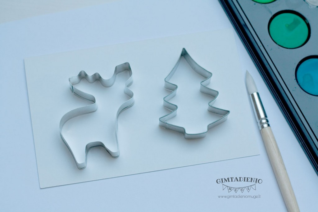 idėjos kalėdiniams atvirukams