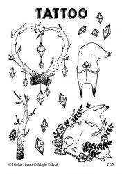 laikinos tatuiruotės vaikams