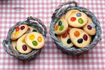 velykiniai sausainiai su jelly bean