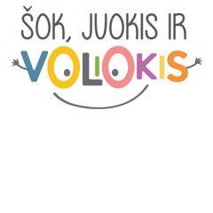šok juokis ir voliokis logo