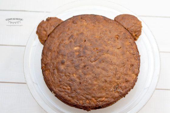 kaip pagaminti pyragą meškį