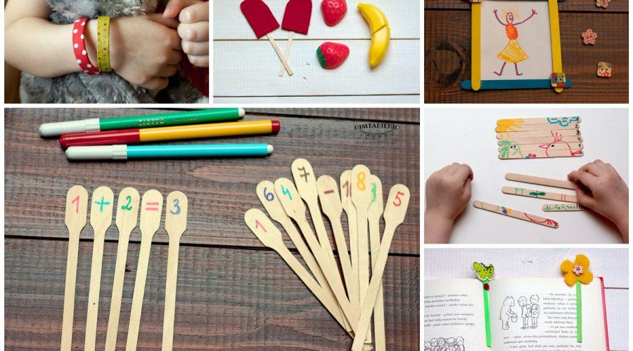 ledų pagaliukai 9 idėjos kaip panaudoti