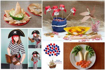 lobių salą arba idėjos piratų gimtadieniui