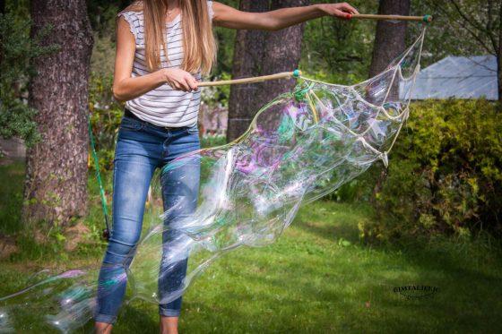 muilo burbulai pramoga