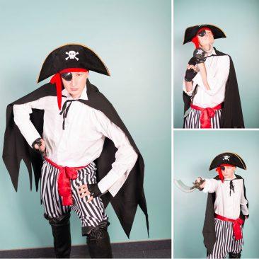 piratas personažas vaikams
