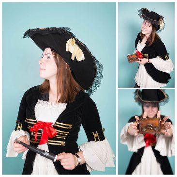 piratės personažas vaikams