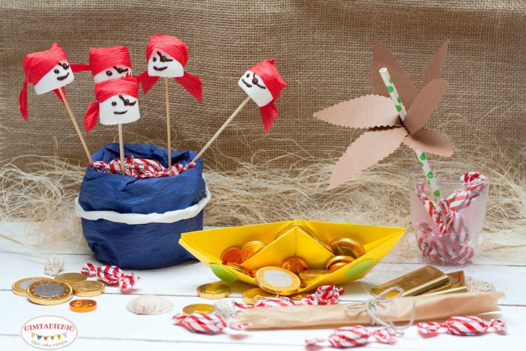 piratų gimtadienis vaikams