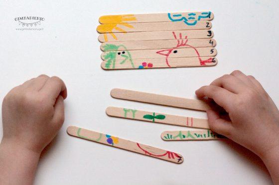 vaikų kūrybiniai darbeliai idėjos