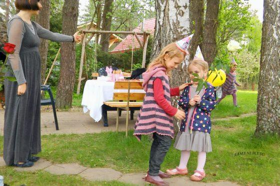 vaikų šventė gryname ore