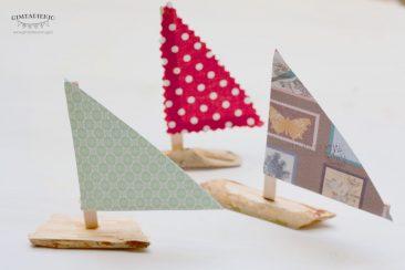 kaip pasidaryti burinius žaislinius laivelius