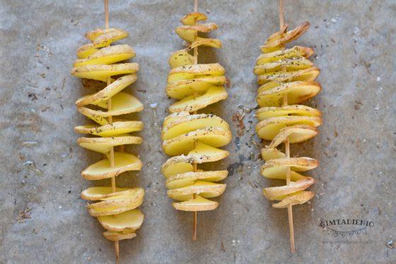 patiekalai iš šviežių bulvių