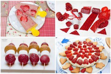 tegyvuoja braškės 10 receptų vaikams su braškėmis