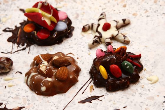šokolado gaminimo pamokos idėja paauglių gimtadieniui
