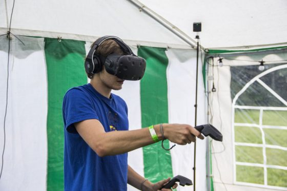 virtualios realybės žaidimai
