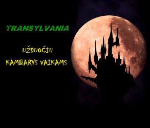 transylvania pabėgimo kambarys vaikams