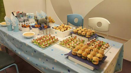 vaikų gimtadienis maistas