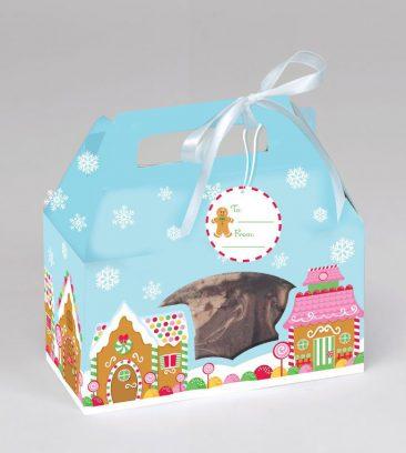 kalėdinė dėžutė saldainiams