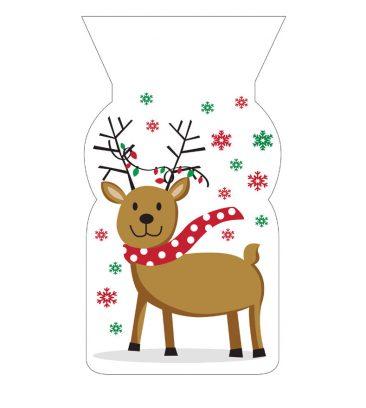 kalėdiniai maišeliai valgomoms dovanoms