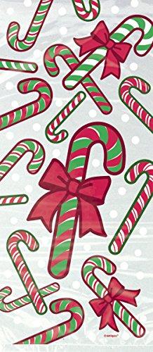 kalėdiniai saldainių maišeliai